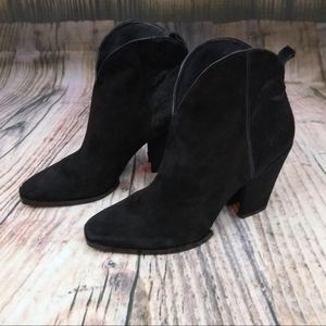 Sigerson Morrison Calf Hair/Suede Pull On Bootie